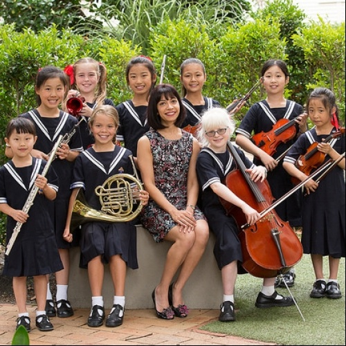 Passion for music shining through in the Junior School