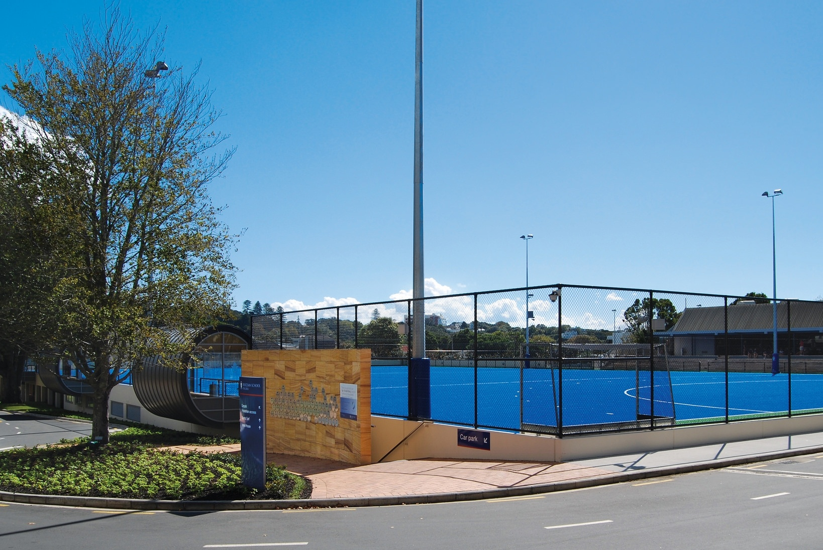 Artificial Turf - this facility encompasses a full competition hockey turf, netball and tennis courts and associated facilities. The complex also features a new home for the Diocesan Shop and our historic treasures in the School Archives.