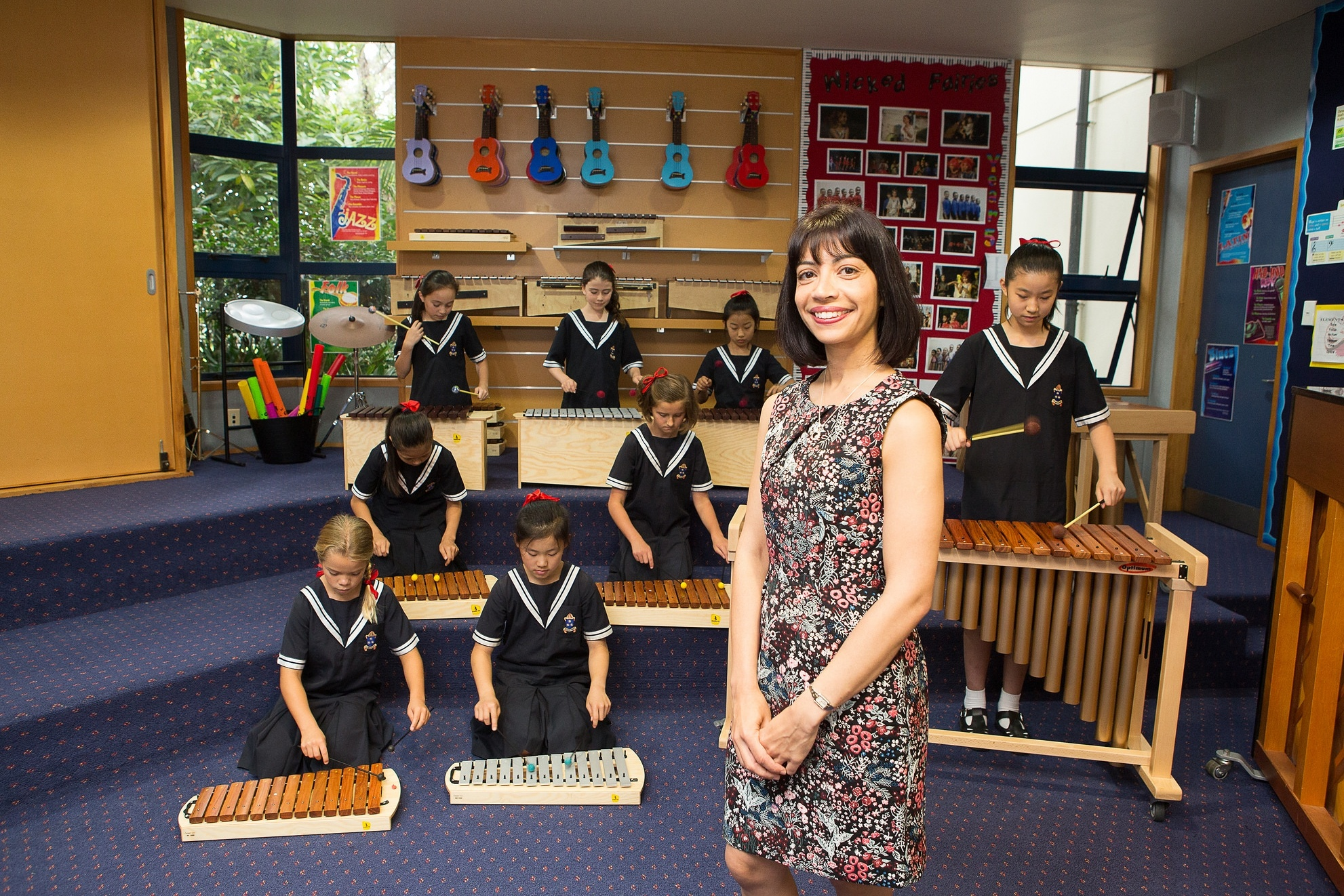 Dedicated music room in the Junior School