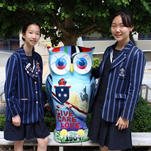 Diocesan enters the Haier Big Hoot art trail