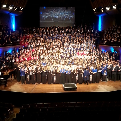 Dio Wins Gold at Big Sing National Finale