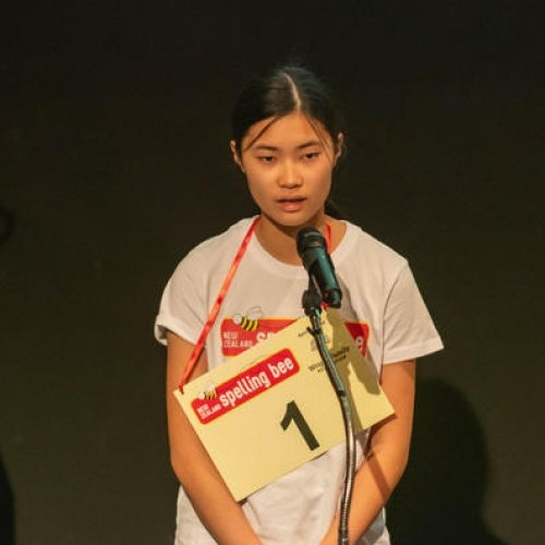 Sarah Wong wins National Spelling Bee