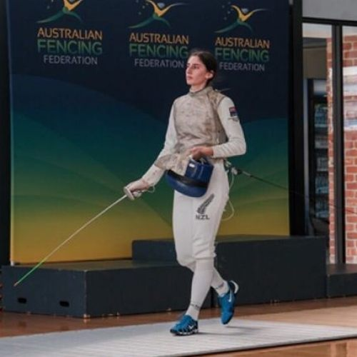 Dio Fencer, Lena Jacob wins gold at Australian Junior Champs