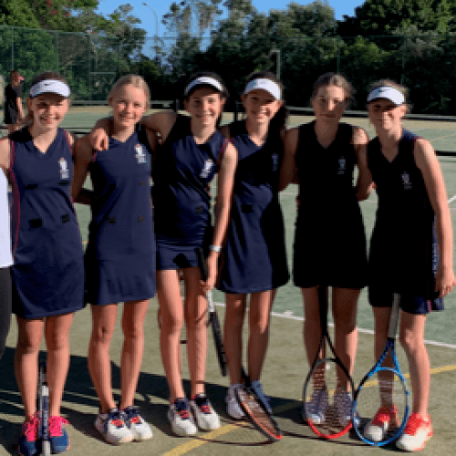 Dio Junior 1  - Term 4 A1 Tennis Champs